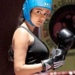 Kajal Agarwal Boxing