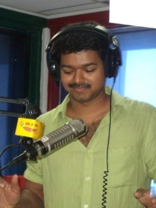 ilayathalapathy Vijay at Radio Mirchi